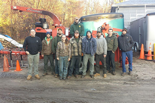 Staff at Driscoll Tree Brunswick Maine